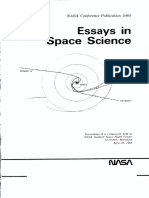 Essays In Space Science, NASA Conference Publication 2464