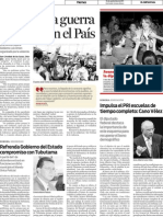 16-09-11 Impulsa el PRI escuelas de tiempo completo - Cano Vélez