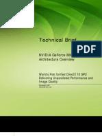 GeForce 8800 GPU Architecture Technical Brief