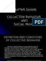 Chapter 07 Collective Behavior and Social Movements