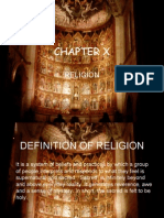 Chapter 10 Religion