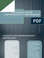 Diferencia Entre Emprendedor y rio