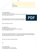 Tacoma-Pierce County Health Department -- E-Cigarette E-Mails March 2011