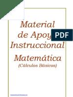 Material de Apoyo Matemática