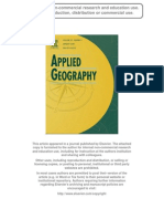 Applied Geography Maantay Maroko