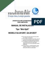 ManualInstalacion_SA-2012'minisplit