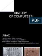 Edp, History of Computers