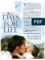 40 Days for Life London