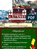 Emergency and Disaster Nursing 2012