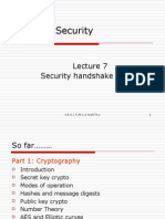 Lect 7 Security Handshake and Pitfalls