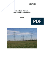 Fiber Optic Cables in High Voltage