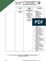 Mapa Currciular y Asignacion Academica