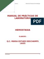 Manual de Practicas de Hemostasia Completo