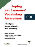 EC Vocabulary Awareness