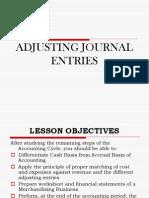 ACTG101 Adjusting Entries