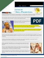 Quotes of Srila Prabhupada