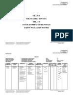 Silabus Dasar Kompetensi Kejuruan 2011/2012