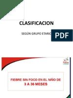 Clasificacion Por Grupo Etario