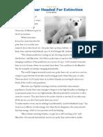 Polar Bear Extinction