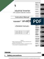 Toshiba VF nC3 Manual