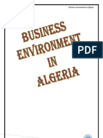 Business Envt in Algeria