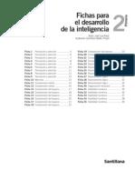 Fichas Para El Desarrollo de La Inteligencia 2º Prim