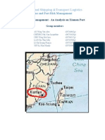 Xiamen Port Risk Assessment Final Version