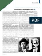 Brasil, no caminho da sustentabilidade e da igualdade na saúde