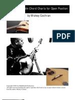 Octave Mandolin or Bouzouki Chord Chart