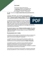 Biografía de Augusto Comte
