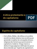 Weber A ética protestante e o espírito do capitalismo