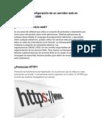 Manual de Servicio Web en Windows Server