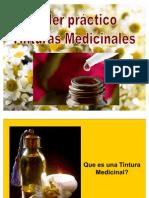 Taller Tinturas Medicinales
