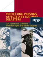 2006 IASC Natural Disaster Guidelines