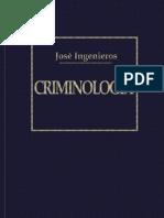 Ingenieros Jose - Criminologia