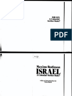 1- Rodinson - Israel_A Colonial Settler State (1973)