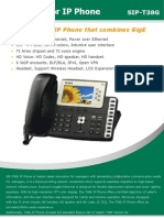 Yealink SIP-T38G HD Desk Phone for Business's