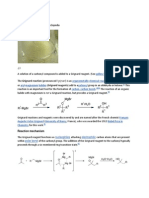 Grignard Reaction Source Wikipedia