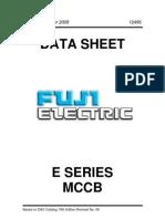 Fuji E Series MCCB