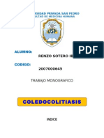 COLEDOCOLITIASIS !