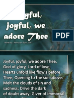 Joyful, Joyful, We Adore Thee Hymns