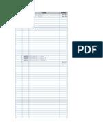 Razonetes Excel