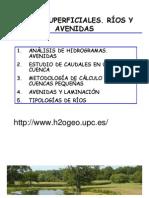Aguas Superficiales Rios y Avenidas