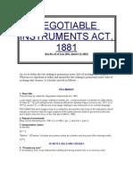Business Law (NI Act)