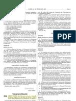 Desarrollo Decreto Creación de Las Acacias