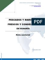 Nota Sectorial Pescados - Mariscos Hungria SEPT 2011