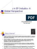 Foaming in EP Industry- A Global Perspective