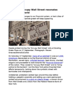 19-09-11 The Call to Occupy Wall Street Resonates Around the World