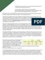 Notes on PV Design