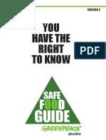 Safe Food Guide
